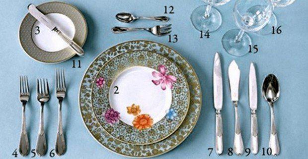 Каждая хозяйка должна это знать: как правильно сервировать стол 14