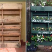 Украсьте свой сад с помощью этой прелестной этажерки из поддона